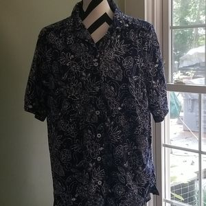 White Stag Flowered Shirt